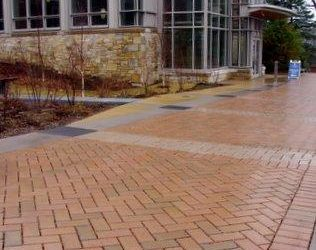 Permeable pavers outperform porous concrete in snowy climate