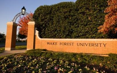 Wake Forest University goes water permeable with local clay pavers