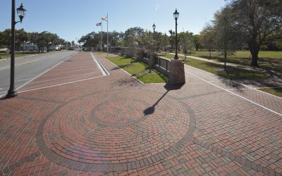 Florida town's permeable paver installation wins national recognition
