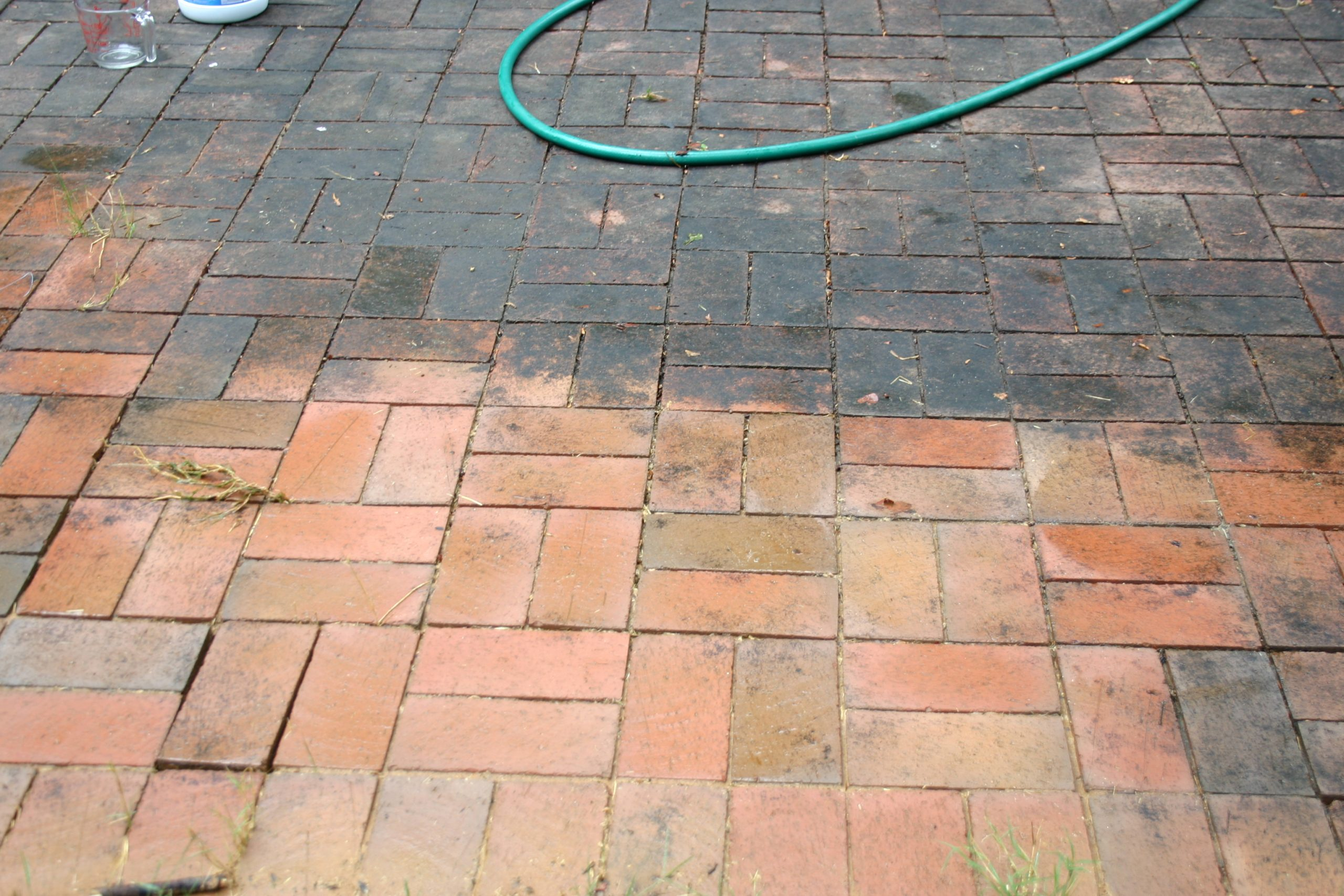 Cleaning Brick Patio