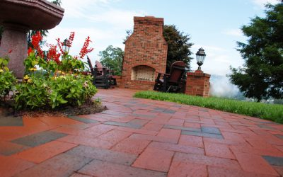 Project spotlight: Haywood Landscapes Inc. brick project in  Clyde, NC wins national Hardscape North America award