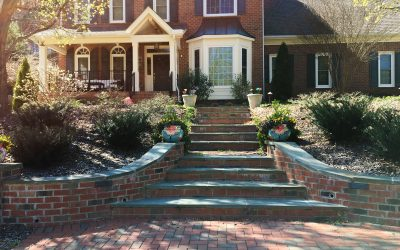 Clay pavers are perfect for exterior makeover