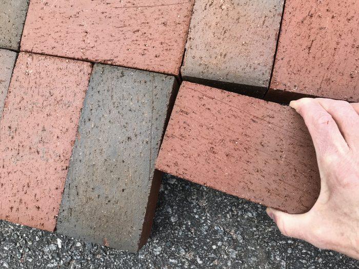 no-cut paver design