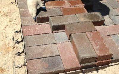 How to install a brick patio yourself