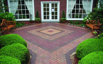 Practical and pleasing: Using patterns in your patio and walkway design.