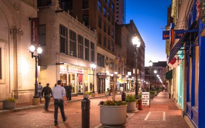 Paver makeover on Pratt Street: cars, pedestrians and a case study in New Urbanism