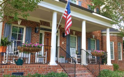 A traditional brick home is already an American classic