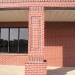 Gray Mortar / Chocolate Wirecut Accent Brick