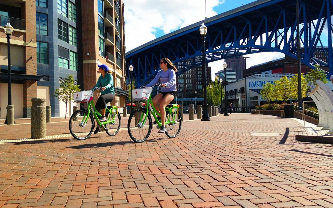 StormPave™ helps protect the Cuyahoga River an revitalizes Flats East Bank