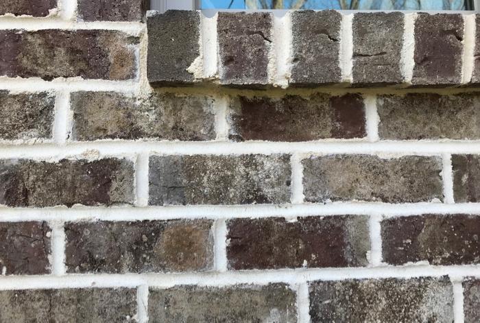brick wall and window sill