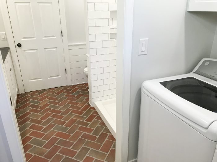 PaverTile laundry room