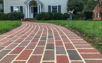 Paver walkway adds beauty to established neighborhood