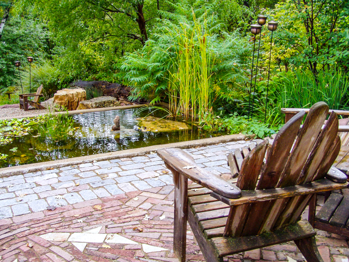 Glenn Switzer landscaping with Pine Hall Brick