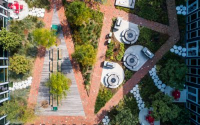 Designer uses clay pavers for authenticity in multi-family complex