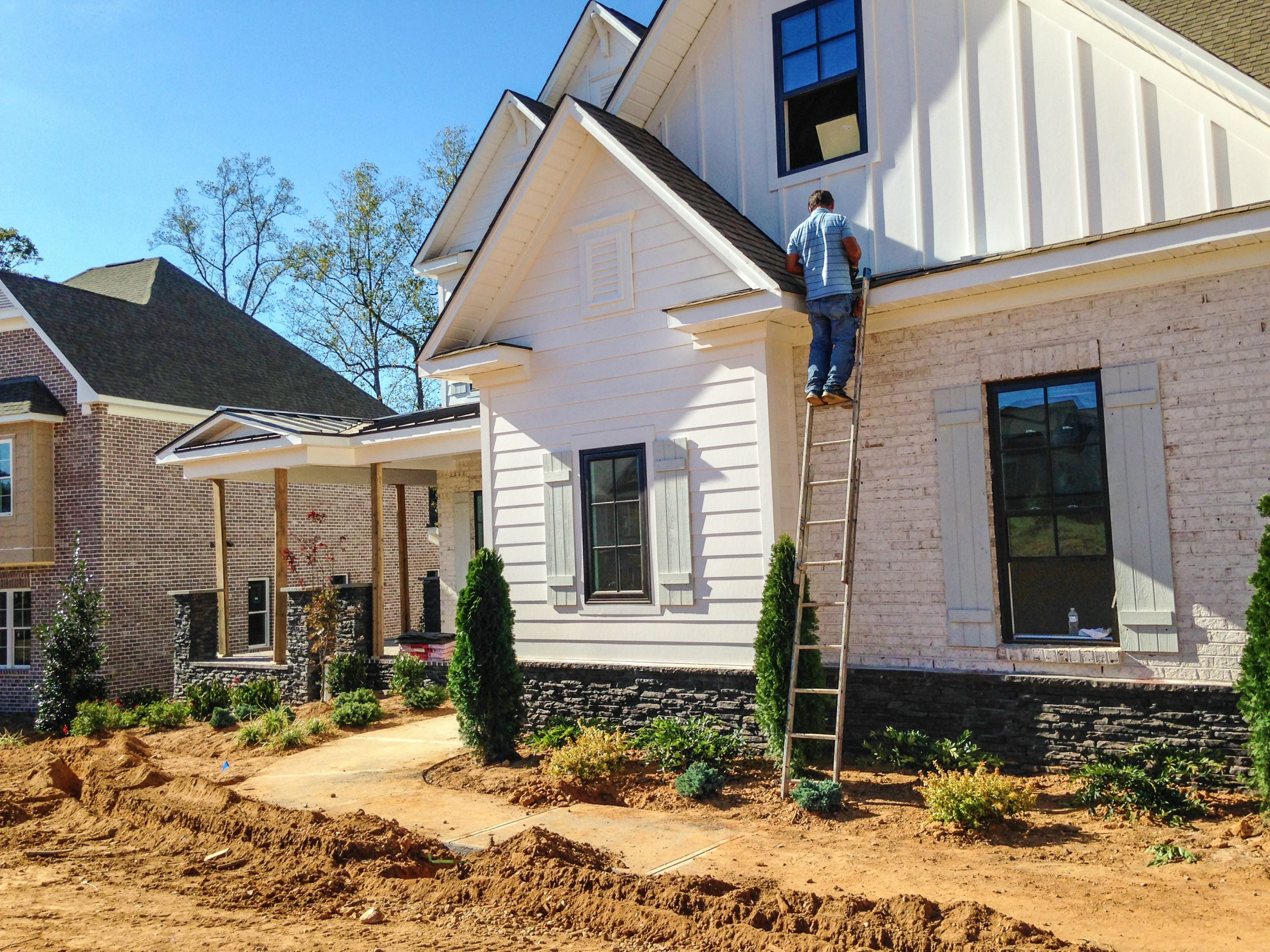 finishing parade of homes entry