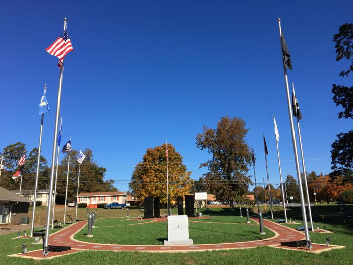 Liberty NC Veterans Memorial