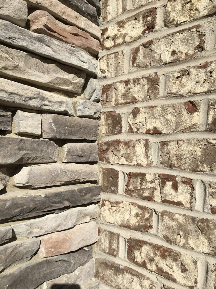 Stone and Tufts House brick