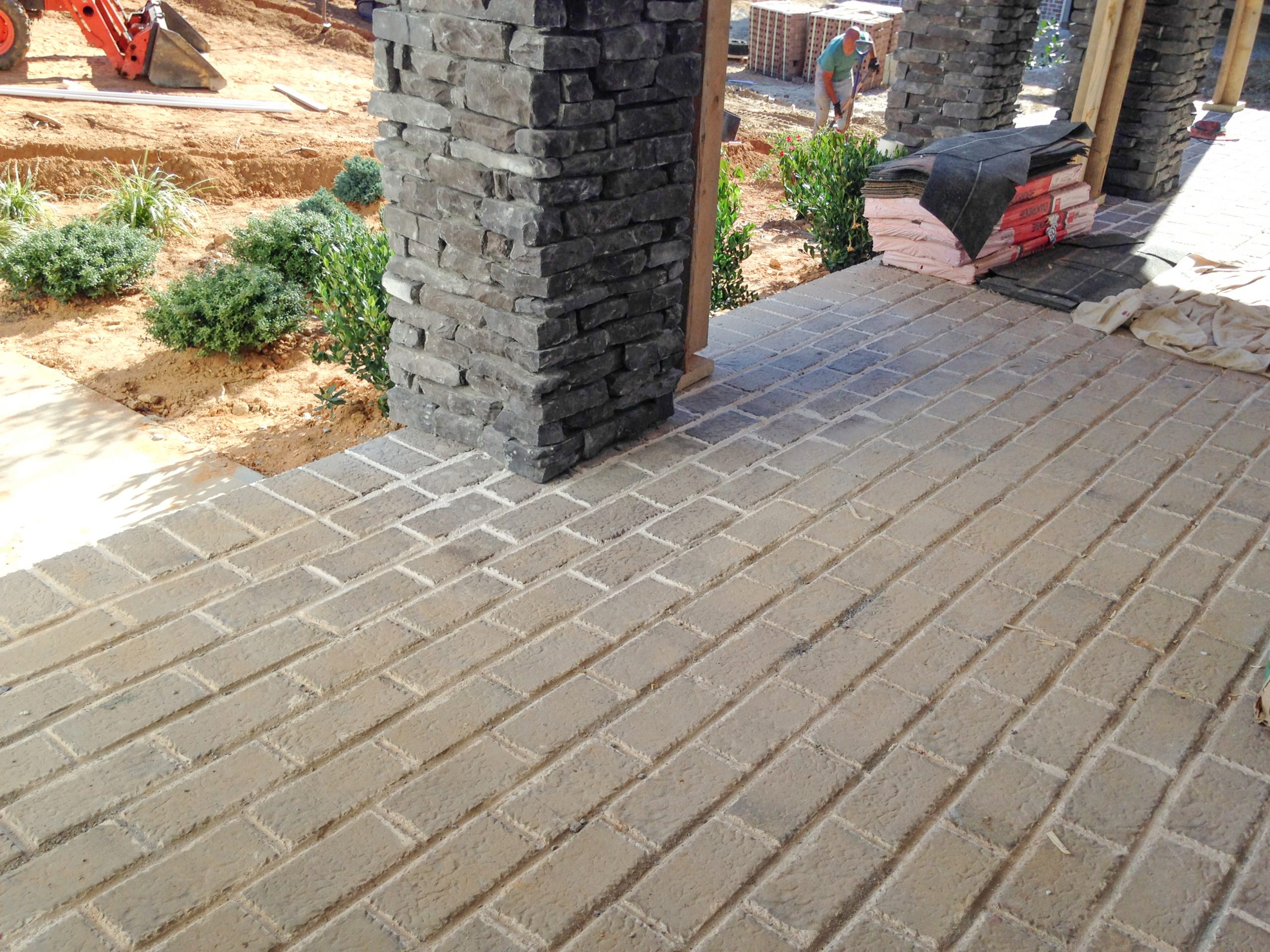 Old Mill clay pavers