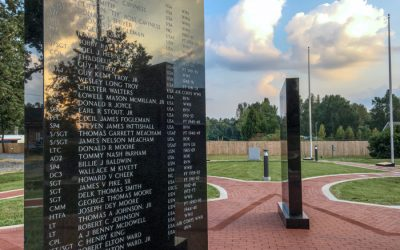 How a small NC town honors its veterans: flags, monuments and Pathway Red pavers