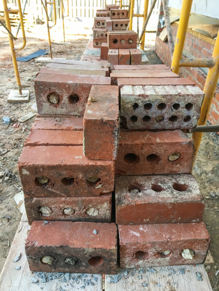 reclaimed brick for antique beauty