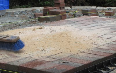 Tips for working with polymeric sand