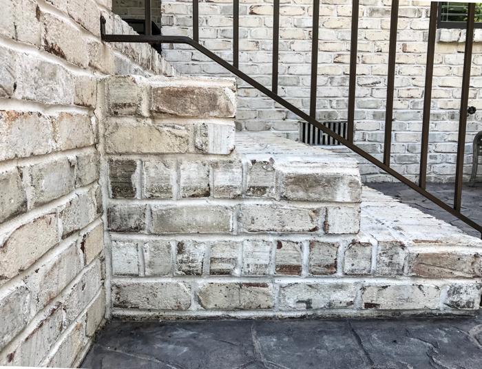 Chesapeake Pearl brick steps