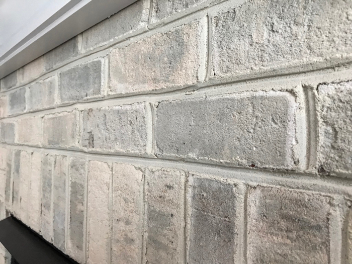 Easy to get professional results with Thin Clad interior brick