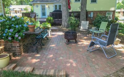 Brick patios age beautifully, are a durable investment