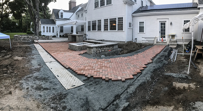 nearly complete forever patio