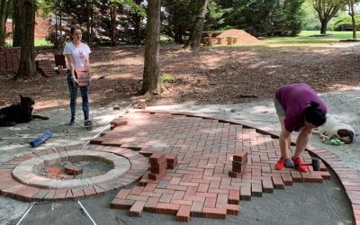 Paver landscaping is a labor of love for Luke DiVenti