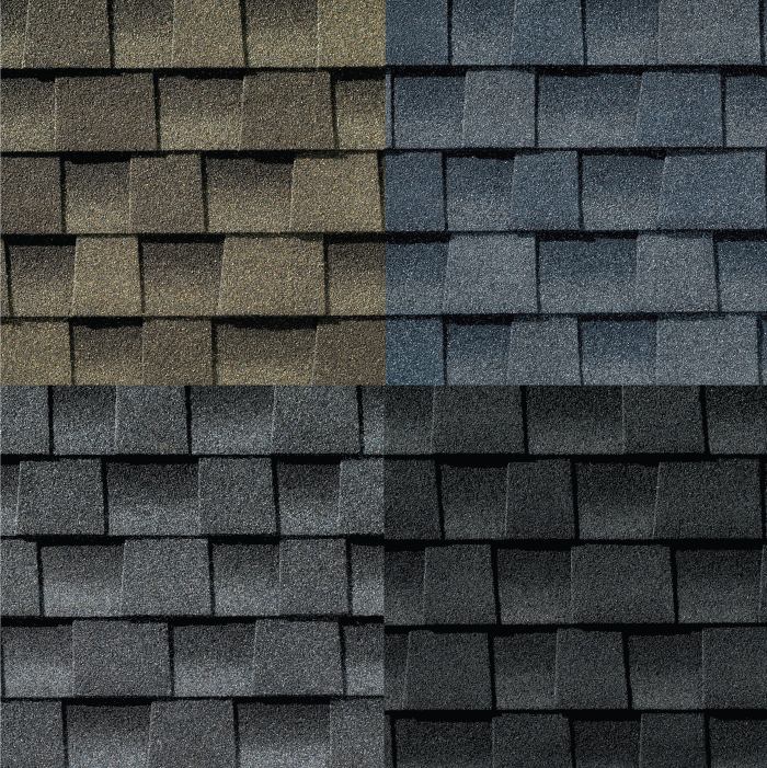 start with the shingles when planning a new home