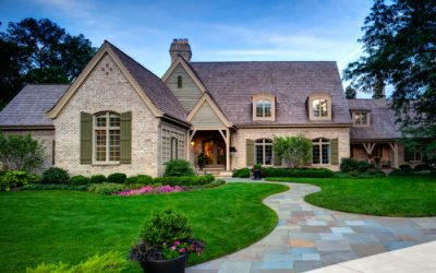Illinois home by Havlicek Builders dazzles with Chesapeake Pearl