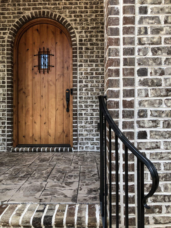 Classic Tudor style entrance