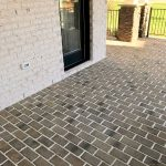 White Mortar / Old Mill Pavers