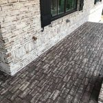 White Mortar - Rumbled Bluff Paver