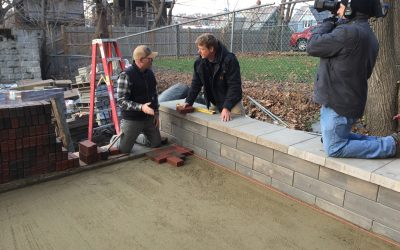 This Old House Dorchester project uses English Edge pavers
