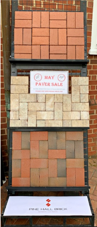 paver sale may 2021