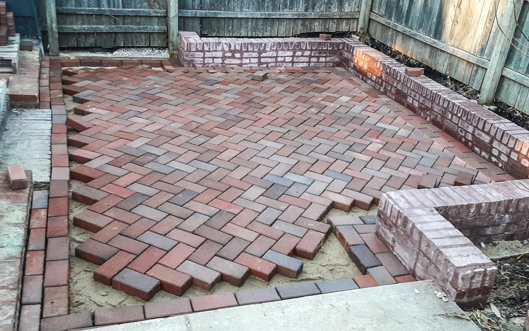 Almost finished English Edge patio
