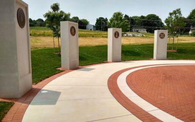 Engraved Brick – Clay pavers help preserve memories in Veteran's Honor Park