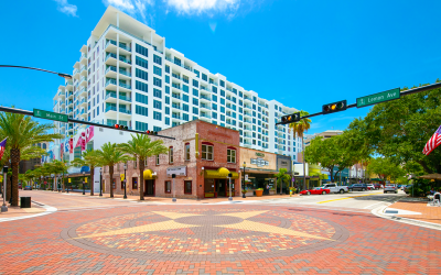 Photo essay of Lemon Avenue streetscape in Sarasota